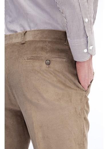 Kiğılı Pantolon Bej